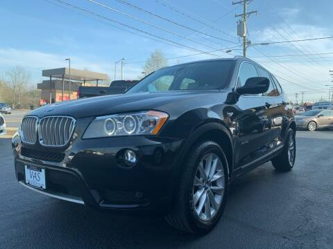 2013 BMW X3 for sale at Viewmont Auto Sales in Hickory NC