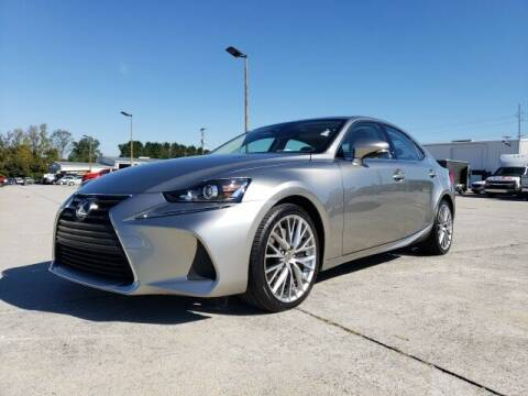 2017 Lexus IS 200t for sale at Hardy Auto Resales in Dallas GA
