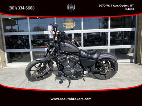 2017 Harley-Davidson XL883N Sportster Iron 883 for sale at S S Auto Brokers in Ogden UT