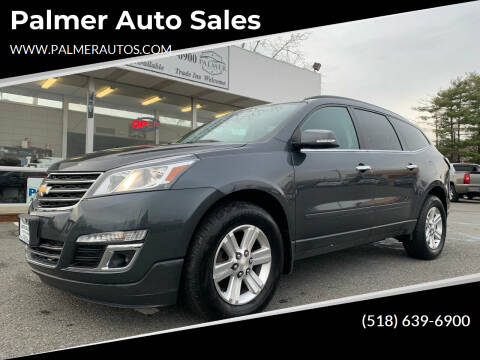 2013 Chevrolet Traverse for sale at Palmer Auto Sales in Menands NY