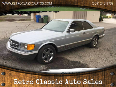 1983 Mercedes-Benz 380-Class for sale at Retro Classic Auto Sales - Classic Cars in Spangle WA