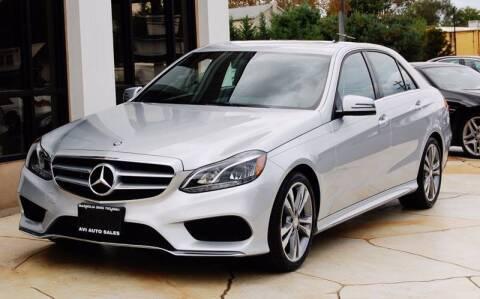 2016 Mercedes-Benz E-Class for sale at Avi Auto Sales Inc in Magnolia NJ