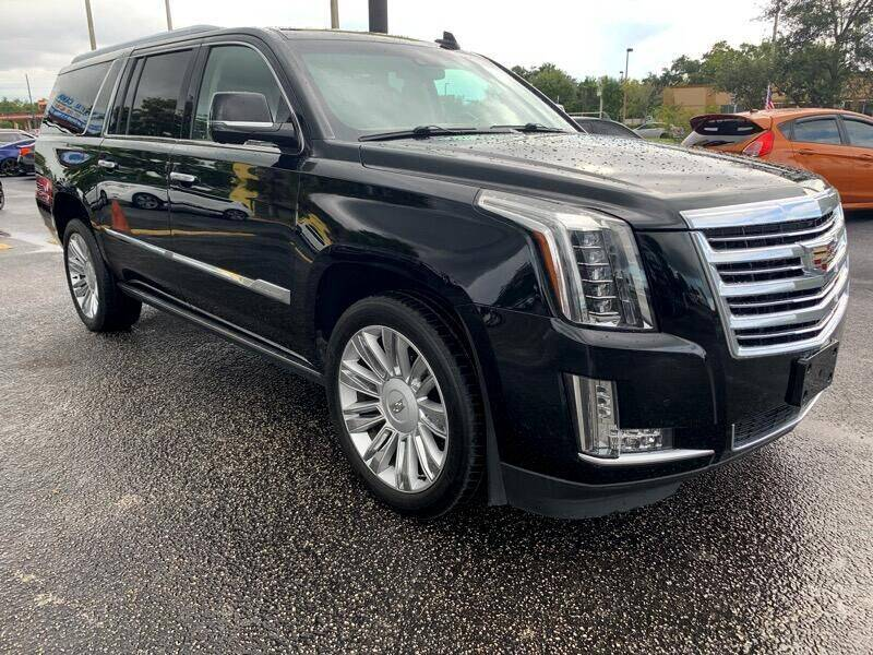 2016 Cadillac Escalade ESV for sale at Orlando Auto Connect in Orlando FL