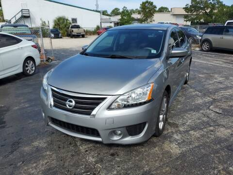 2014 Nissan Sentra for sale at CAR-RIGHT AUTO SALES INC in Naples FL