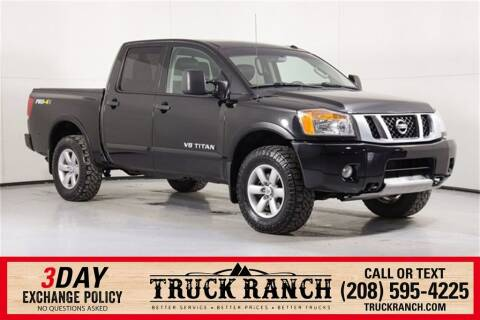 2014 Nissan Titan for sale at Truck Ranch in Twin Falls ID