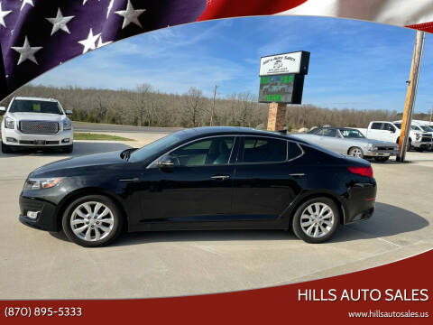 2015 Kia Optima for sale at Hills Auto Sales in Salem AR