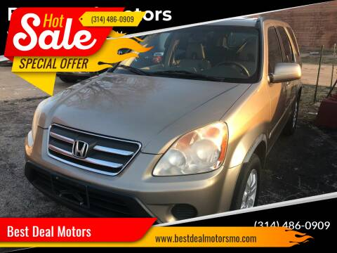 2005 Honda CR-V for sale at Best Deal Motors in Saint Charles MO