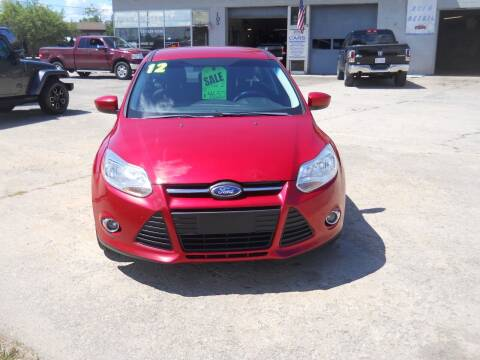 2012 Ford Focus for sale at Shaw Motor Sales in Kalkaska MI