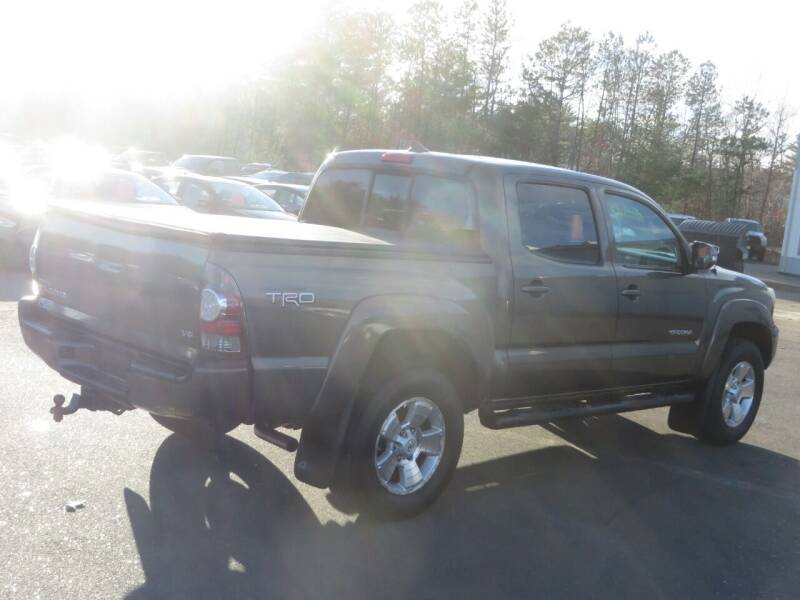 2012 Toyota Tacoma 4x4 V6 4dr Double Cab 5.0 ft SB 5A - Concord NH