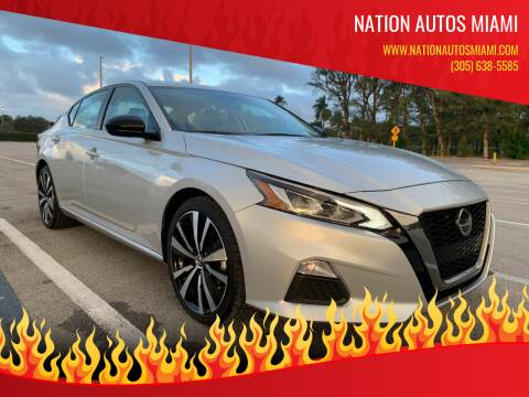 2019 Nissan Altima for sale at Nation Autos Miami in Hialeah FL