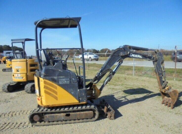 2014 John Deere 17 D Mini Excavator for sale at Vehicle Network - Dick Smith Equipment in Goldsboro NC