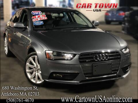 2013 Audi A4 for sale at Car Town USA in Attleboro MA