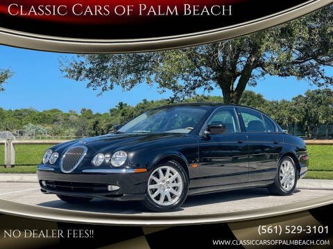 2000 Jaguar S-Type for sale at Classic Cars of Palm Beach in Jupiter FL