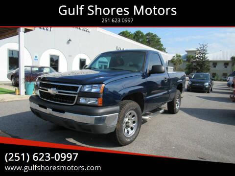 2007 Chevrolet Silverado 1500 Classic for sale at Gulf Shores Motors in Gulf Shores AL