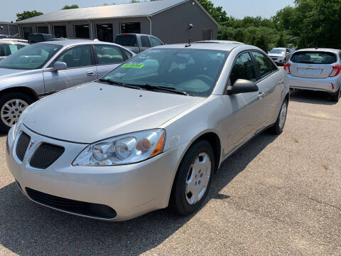 2008 Pontiac G6 for sale at Blake Hollenbeck Auto Sales in Greenville MI