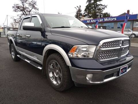 2012 RAM Ram Pickup 1500 for sale at All American Motors in Tacoma WA