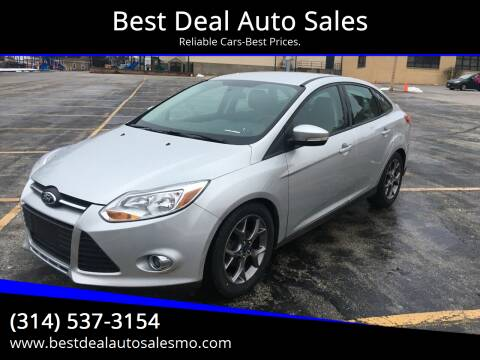 2014 Ford Focus for sale at Best Deal Auto Sales in Saint Charles MO