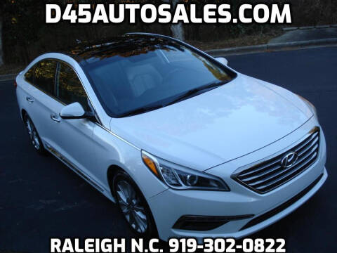 2015 Hyundai Sonata for sale at D45 Auto Brokers in Raleigh NC