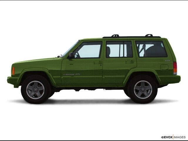 2000 Jeep Cherokee for sale at CHAPARRAL USED CARS in Piney Flats TN