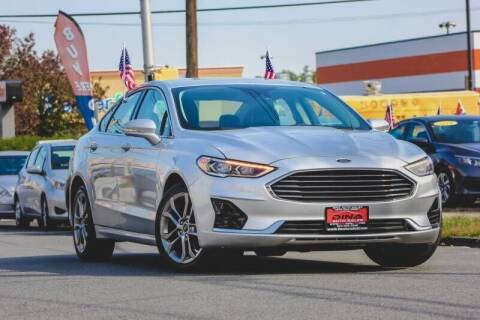2019 Ford Fusion for sale at Dina Auto Sales in Paterson NJ