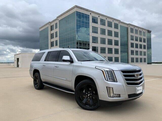 2017 Cadillac Escalade ESV for sale at SIGNATURE Sales & Consignment in Austin TX