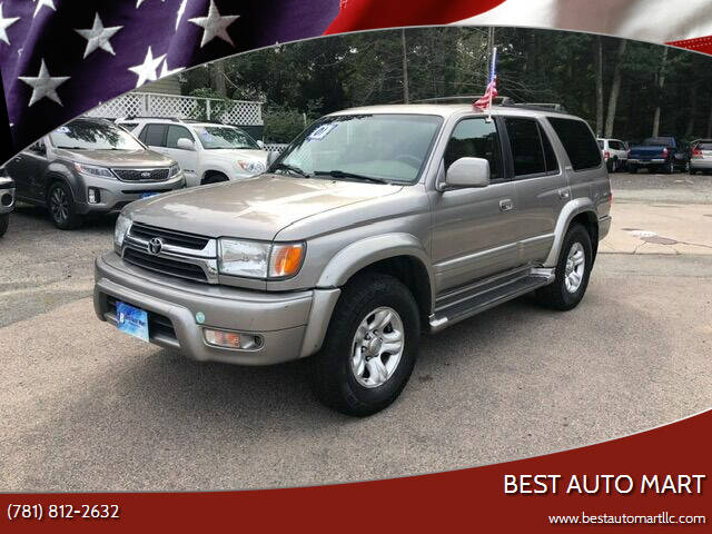 2001 Toyota 4Runner for sale at Best Auto Mart in Weymouth MA