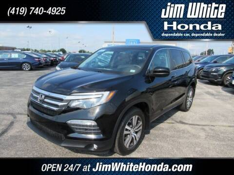2018 Honda Pilot for sale at The Credit Miracle Network Team at Jim White Honda in Maumee OH