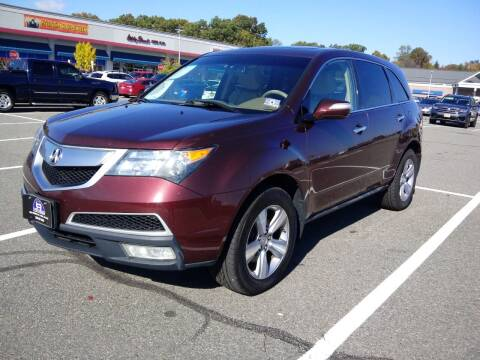 2012 Acura MDX for sale at B&B Auto LLC in Union NJ