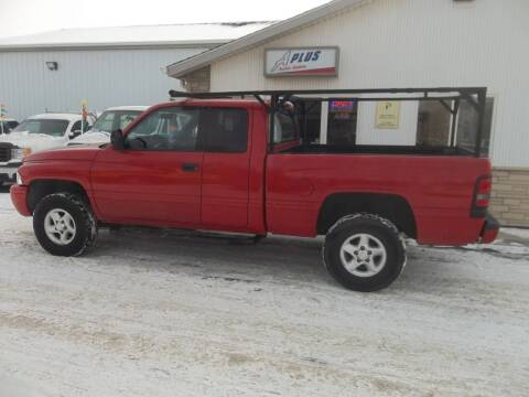 2001 Dodge Ram Pickup 1500 for sale at A Plus Auto Sales/ - A Plus Auto Sales in Sioux Falls SD
