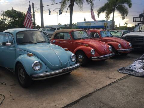 1974 Volkswagen Beetle for sale at TOP TWO USA INC in Oakland Park FL