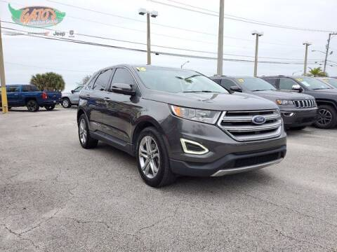 2016 Ford Edge for sale at GATOR'S IMPORT SUPERSTORE in Melbourne FL