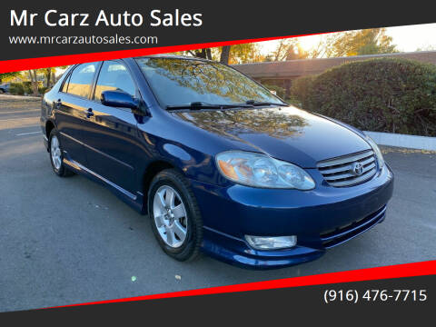 2004 Toyota Corolla for sale at Mr Carz Auto Sales in Sacramento CA