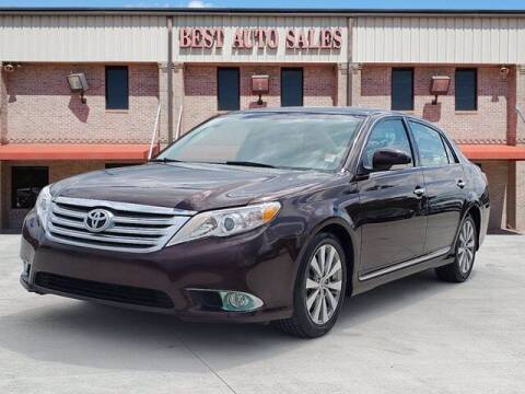 2011 Toyota Avalon for sale at Best Auto Sales LLC in Auburn AL