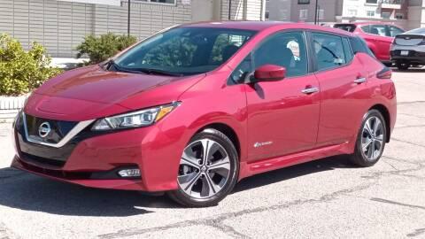 2018 Nissan LEAF for sale at Clean Fuels Utah - SLC in Salt Lake City UT