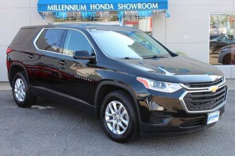 2019 Chevrolet Traverse for sale at MILLENNIUM HONDA in Hempstead NY