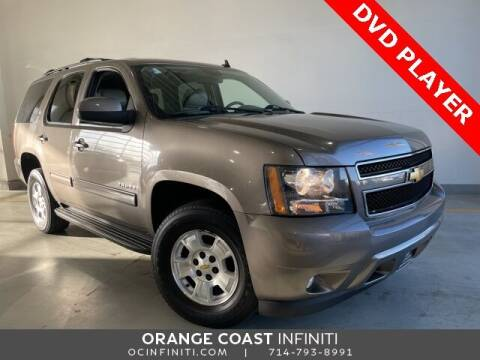 2012 Chevrolet Tahoe for sale at ORANGE COAST CARS in Westminster CA