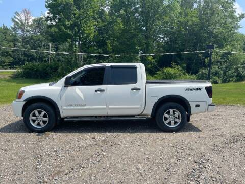 2010 Nissan Titan for sale at Hart's Classics Inc in Oxford ME