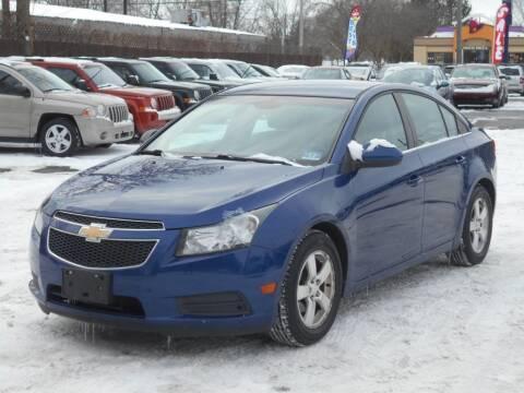 2012 Chevrolet Cruze for sale at MT MORRIS AUTO SALES INC in Mount Morris MI