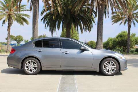 2012 Infiniti G37 Sedan for sale at Miramar Sport Cars in San Diego CA