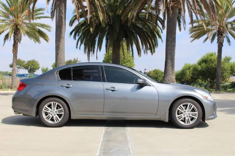 2012 Infiniti G37 Sedan for sale at Miramar Sport Cars in San Diego CA