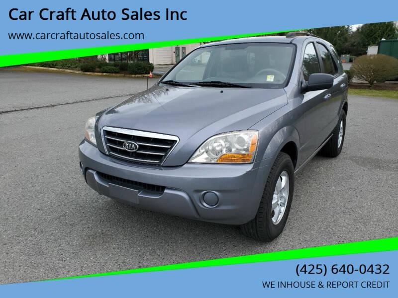 2008 Kia Sorento for sale at Car Craft Auto Sales Inc in Lynnwood WA