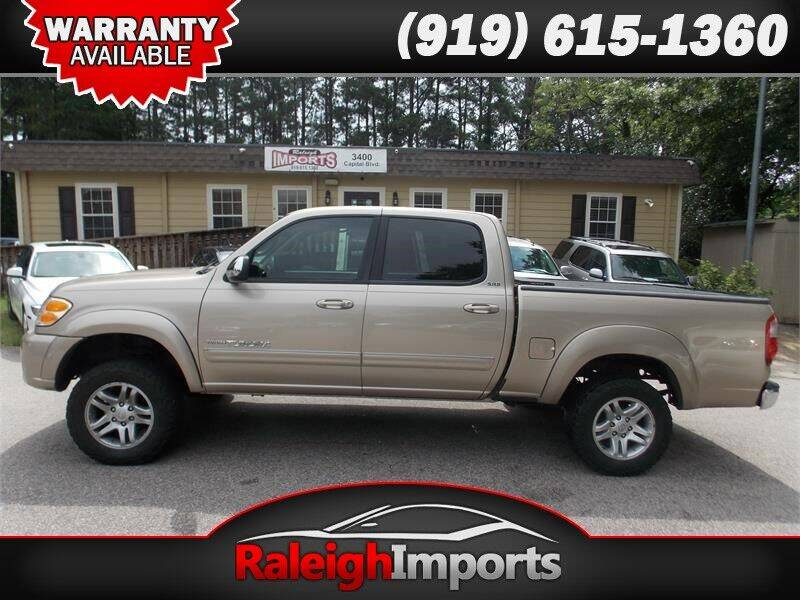 2004 Toyota Tundra for sale at Raleigh Imports in Raleigh NC