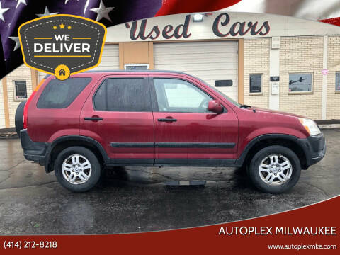 2002 Honda CR-V for sale at Autoplex 2 in Milwaukee WI