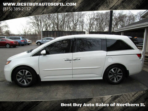2014 Honda Odyssey for sale at Best Buy Auto Sales of Northern IL in South Beloit IL