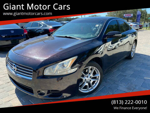 2010 Nissan Maxima for sale at Giant Motor Cars in Tampa FL