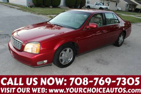 2003 Cadillac DeVille for sale at Your Choice Autos in Posen IL