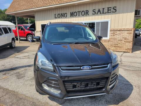 2016 Ford Escape for sale at Long Motor Sales in Tecumseh MI