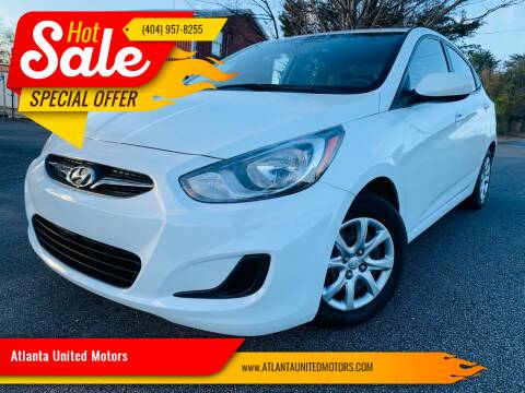 2014 Hyundai Accent for sale at Atlanta United Motors in Buford GA