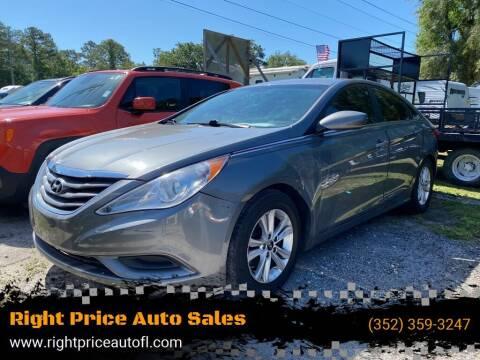 2013 Hyundai Sonata for sale at Right Price Auto Sales in Waldo FL