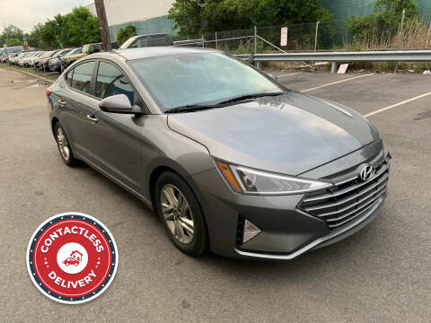 2019 Hyundai Elantra for sale at Eastclusive Motors LLC in Hasbrouck Heights NJ